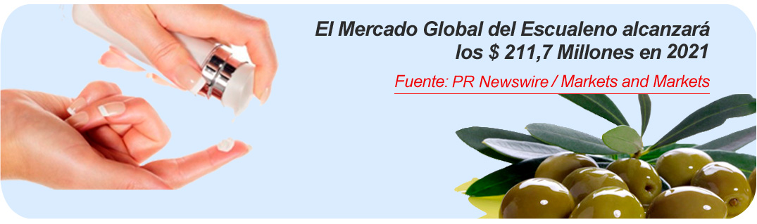 mercado global escualeno